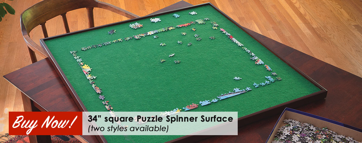 Puzzle Spinner Surface Square 34