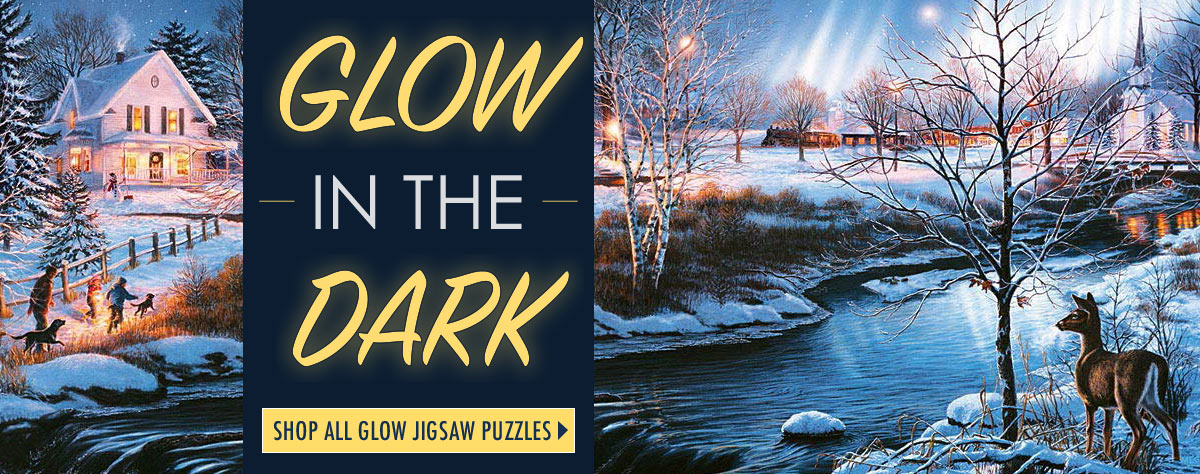 Glow-In-The-Dark Jigsaw Puzzles