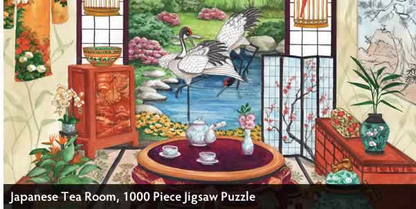 JAPANESE TEA ROOM 1000 PIECE JIGSAW PUZZLE