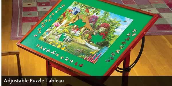 Adjustable Puzzle Tableau