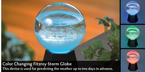 Color Changing Fitzroy Storm Globe