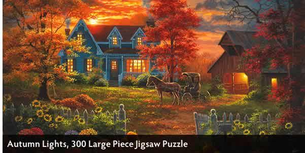 Autumn Lights 300 Large Piece Jigsaw Puzzle