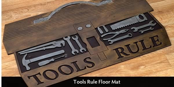 Tools Rule Floor Mat