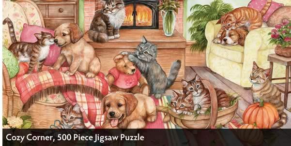 Cozy Corner 500 Piece Jigsaw Puzzle