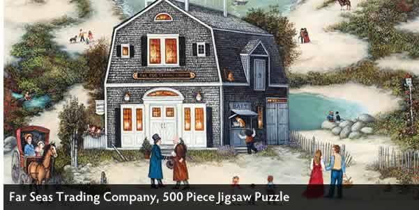 Far Seas Trading Company 500 Piece Jigsaw Puzzle