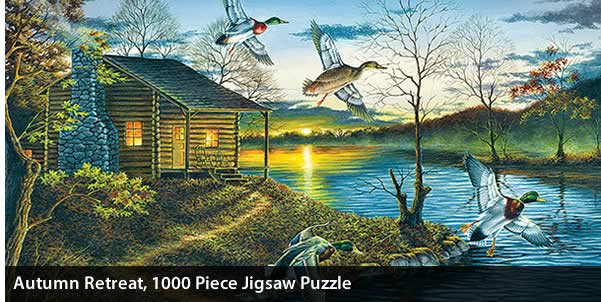 Autumn Retreat 1000 Piece Jigsaw Puzzle
