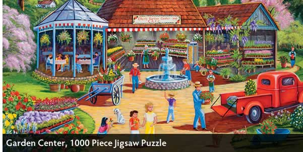 Garden Center 1000 Piece Jigsaw Puzzle