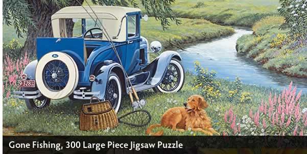 Gone Fishing 300 Large Piece Jigsaw Puzzle
