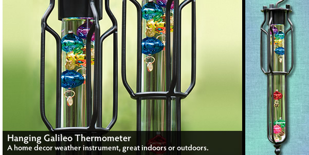 Hanging Galileo Thermometer