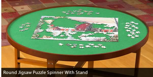 Round Spinner with Stand