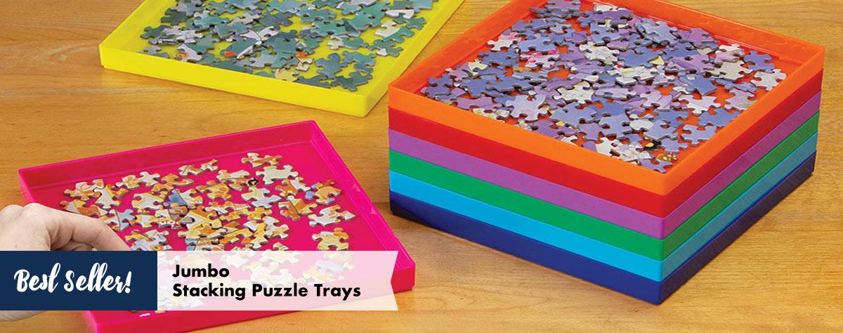Jumbo Stack-Em Puzzle Trays