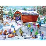 Winter Frolic 500 Piece Jigsaw Puzzle