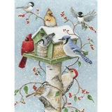 Winter Birds 1000 Piece Jigsaw Puzzle