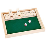 Shut the Box Game - Large
