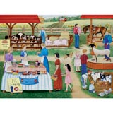 Farm Country Fair 300 Large Piece Jigsaw Puzzle