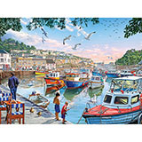 Harbor Boats 300 Large Piece Jigsaw Puzzle