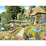 Spring In Their Heels 300 Large Piece Jigsaw Puzzle