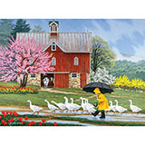 Puddle Jumpers 1000 Piece Jigsaw Puzzle