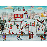 Winter Recess 300 Large Piece Jigsaw Puzzle