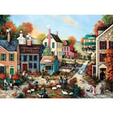 The Village Green 1000 Piece Jigsaw Puzzle