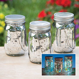 Twinkle Lights Mercury Jar