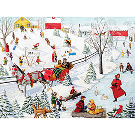Winter Fun 500 Piece Jigsaw Puzzle