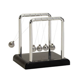 World's Smallest Newton's Cradle