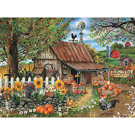 Bountiful Meadow Farm 500 Piece Jigsaw Puzzle