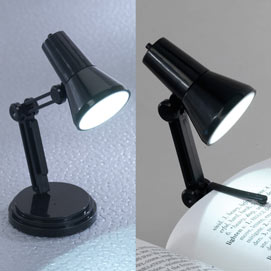 World's Smallest LED Desk Lamp