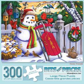 Frosty Friends 300 Large Piece Jigsaw Puzzle