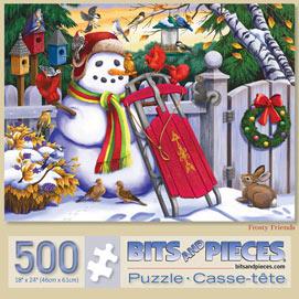 Frosty Friends 500 Piece Jigsaw Puzzle