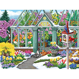 Spring in Bloom 500 Piece Jigsaw Puzzle