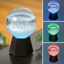 LED Color Changing Fitzroy Storm Globe