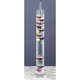 Galileo Thermometer Large 17