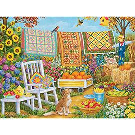 Harvest Time 300 Large Piece Jigsaw Puzzle