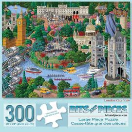 London 300 Large Piece Jigsaw Puzzle