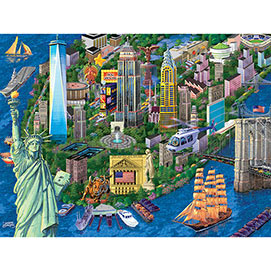 New York City 300 Large Piece Jigsaw Puzzle