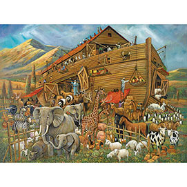 After the Flood 1000 Piece Wood Jigsaw Puzzle