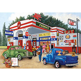 Frank's Friendly Service 2000 Piece Jigsaw Puzzle