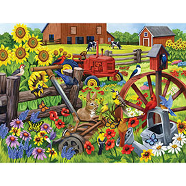 Singing in the Meadow 500 Piece Jigsaw Puzzle