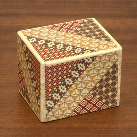 Mosaic Secret Wooden Puzzle Box - Large