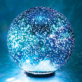 Spectacular Mercury Glass Ball