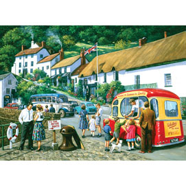 The English Resort 500 Piece Jigsaw Puzzle