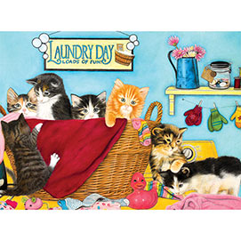 Laundry Day 1000 Piece Jigsaw Puzzle