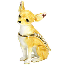 Best Friend Trinket Box - Chihuahua