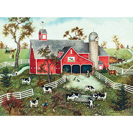 Cows, Cows, Cows 500 Piece Jigsaw Puzzle
