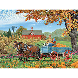 Bumper Crop 300 Large Piece Jigsaw Puzzle