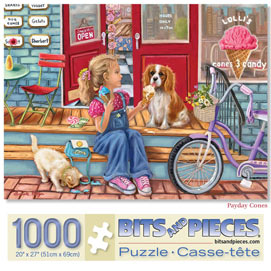 Pay Day Cones 1000 Piece Jigsaw Puzzle