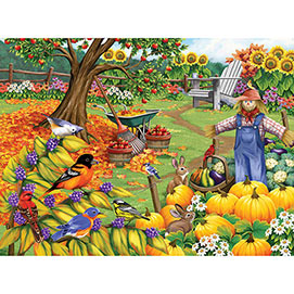 Fall Cleanup 1000 Piece Jigsaw Puzzle