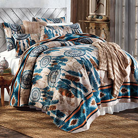Dream Catcher Fleece Bedding